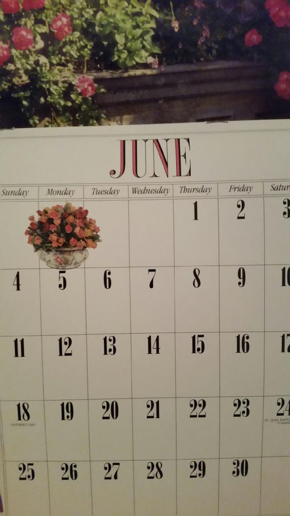 calendar June 2